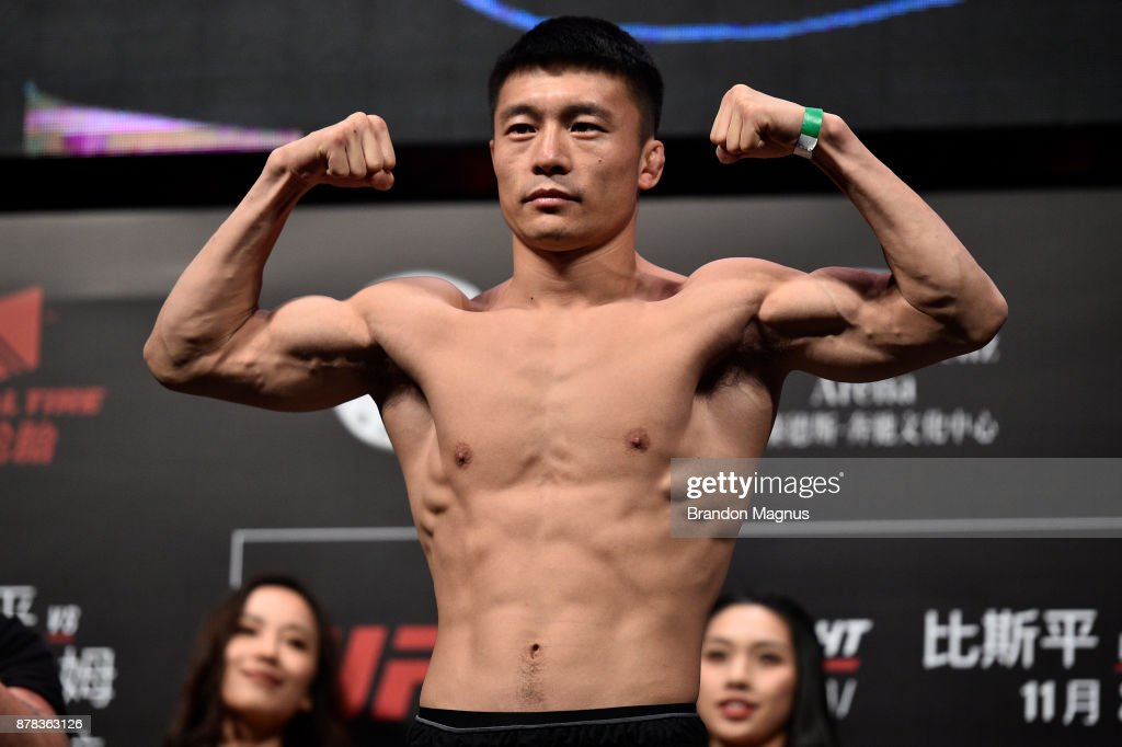 UFC Fight Night Weigh-in : Nieuwsfoto's