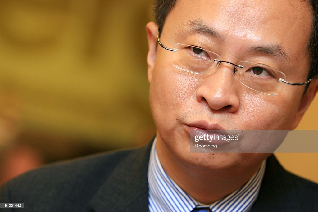 Wumart Chairman and President Zhang Wenzhong speaks during an interview in Beijing, China, Friday, August 11, 2006. Wumart Stores Inc.'s chairman Zhang Wenzhong, under investigation over how he raised money to start the company, resigned on Monday, the Standard said, without identifying where it got the information.