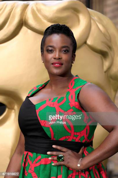 Wunmi Mosaku attends the British Academy Television Craft Awards on April 23 2017 in London United Kingdom