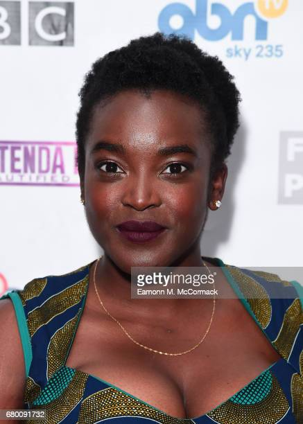 Wunmi Mosaku attends the Screen Nation Film Television Awards at Park Plaza Riverbank Hotel on May 7 2017 in London England