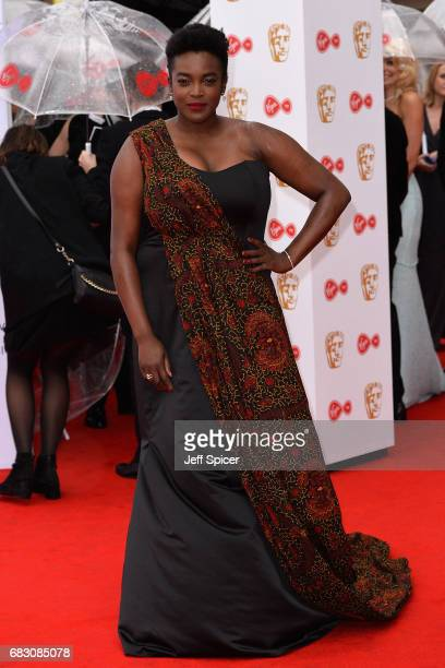 Wunmi Mosaku attends the Virgin TV BAFTA Television Awards at The Royal Festival Hall on May 14 2017 in London England
