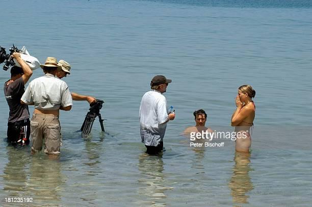 Tanja Wedhorn Pascal Breuer Regisseur Michael Steinke Drehteam Dreharbeiten der ZDFReihe Traumschiff Folge 49 Oman Episode 1 Wunschkind...