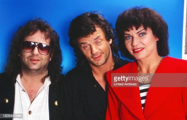 Wunschkonzert, Musiksendung, Deutschland 1990, Gaststar: -?-, Leo Sayer, Inga Rumpf(.