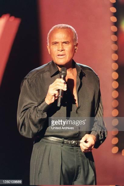 ARD Wunschkonzert TV Unterhaltungsreihe Auftritt von Stargast Harry Belafonte