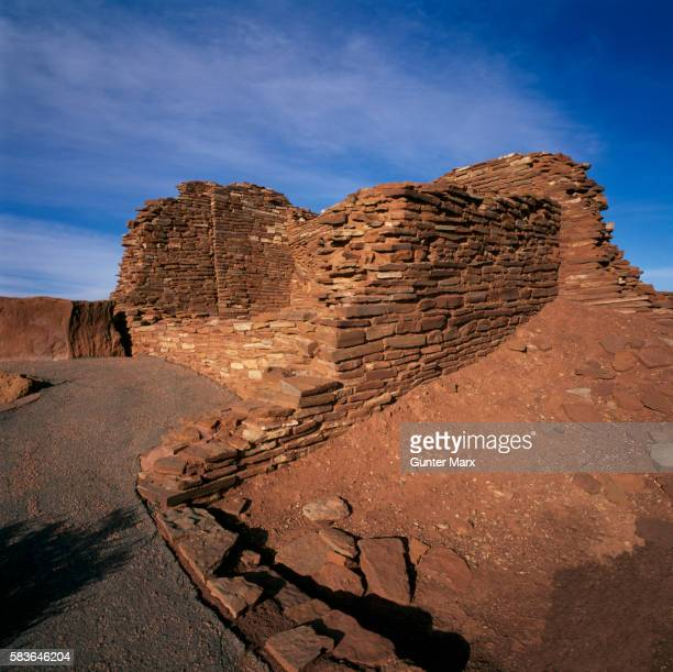 wupatki pueblo, arizona - sinagua stock pictures, royalty-free photos & images