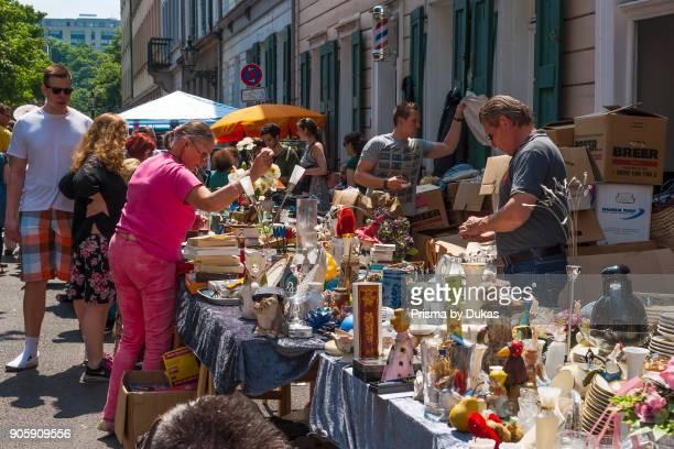 Wuppertal North RhineWestphalia Luisenfest flea market