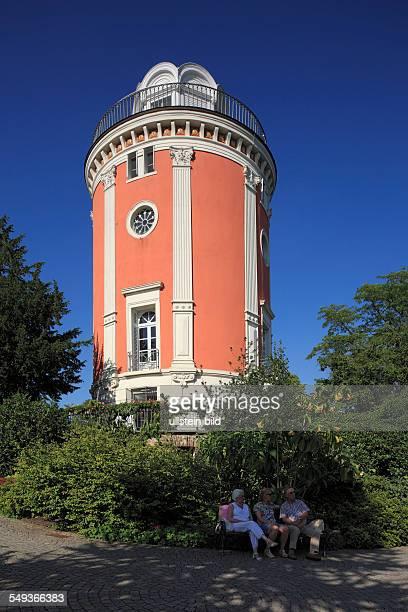 WuppertalElberfeld Hardt hill park botanical garden Elisen Tower observation tower