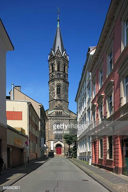 Wuppertal-Elberfeld, Sophienkirche in the Luisen Quarter, New Church, New Reformed church, evangelical church, Sophienstrasse