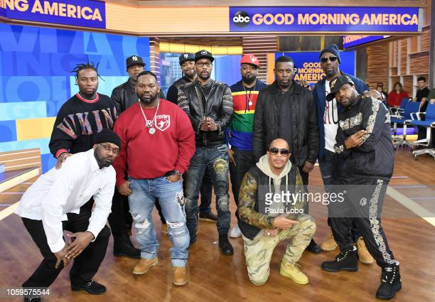AMERICA WuTang Clan perform live on Good Morning America on Friday November 9 2018 on Walt Disney Television via Getty Images WU
