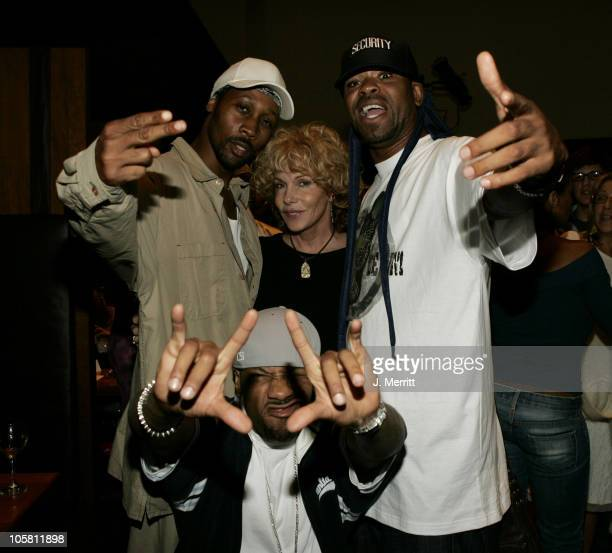 WuTang Clan Redman RZA and Method Man with friend