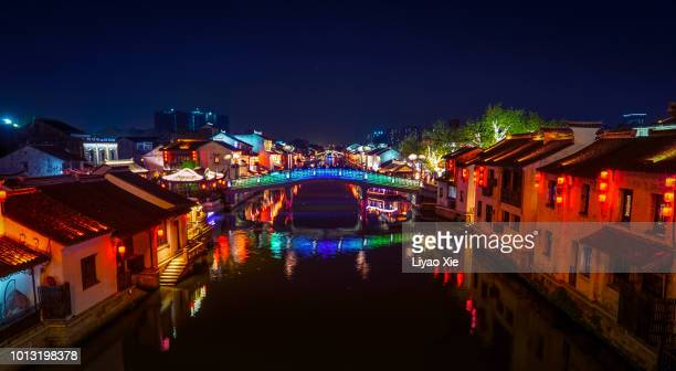 wuxi grand canal - liyao xie stock pictures, royalty-free photos & images