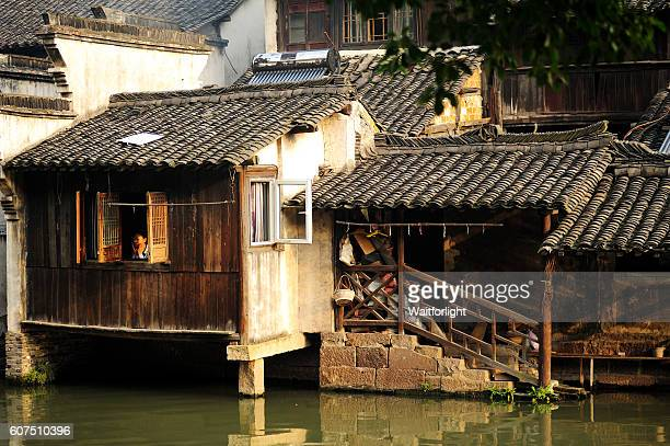 Wuzhen Ancient Water Town in early morning