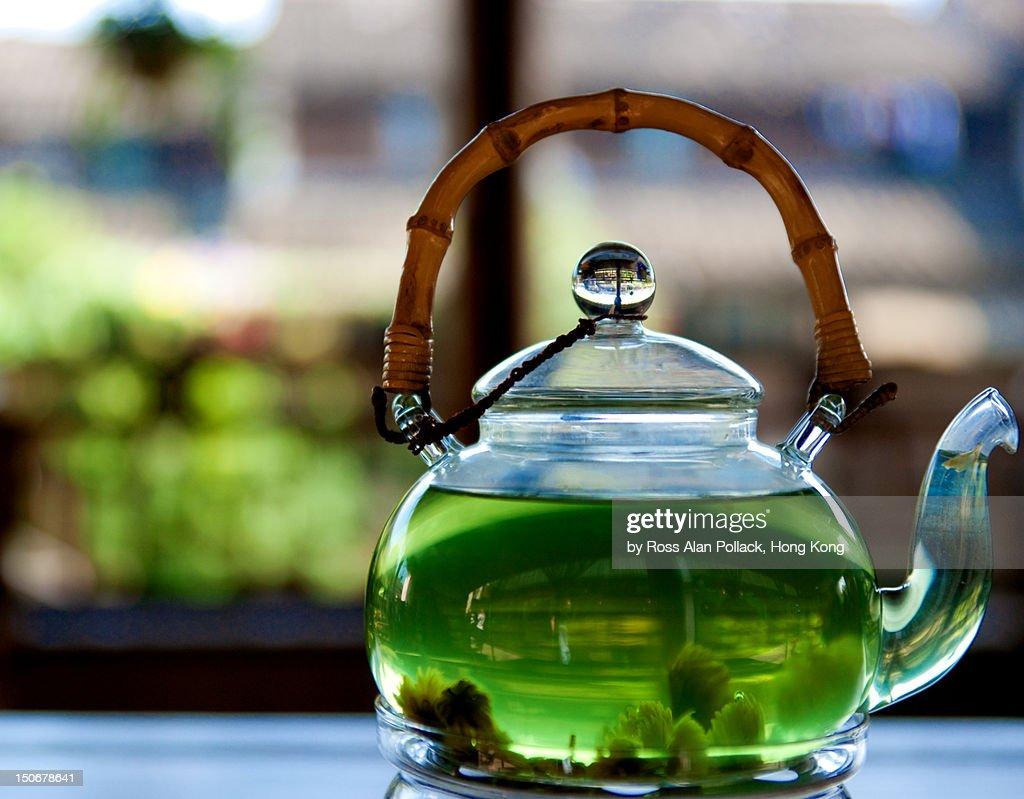 Wuzhen in teapot : Stock Photo