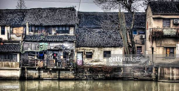 wuzhen, watertown, china - jakob montrasio stock pictures, royalty-free photos & images