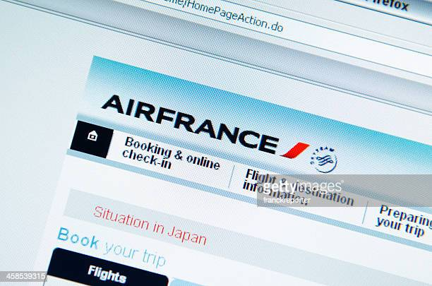 www.airfrance.com main page