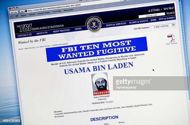 www.fbi.gov announce the death of Osama Bin Laden