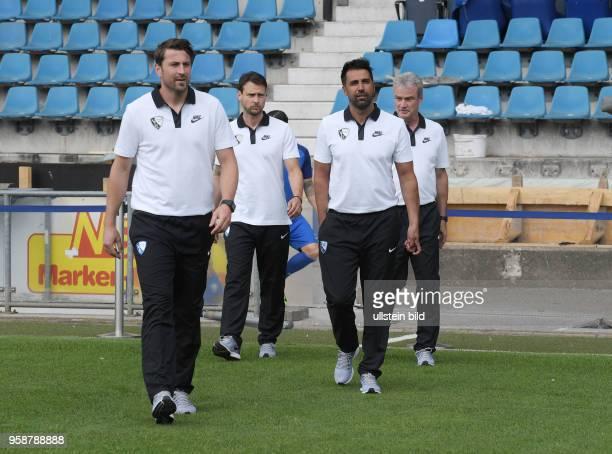 wwwteam2sportphotode Fußball GER 2BL Offizieller Mannschaftsfoto und Portraittermin 2017/2018 VfL Bochum Bochums neuer Trainer Ismail Atalan 2 vre...