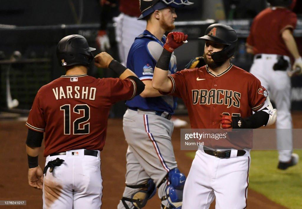Texas Rangers v Arizona Diamondbacks : News Photo