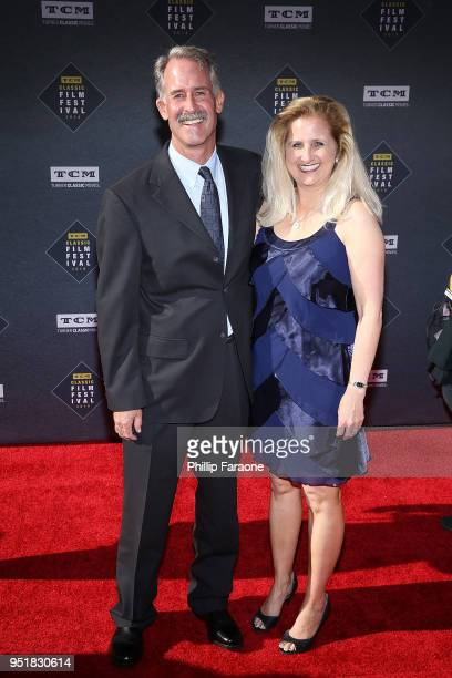 Wyatt McCrea and guest attend the 2018 TCM Classic Film Festival Opening Night Gala 50th Anniversary World Premiere Restoration of The Producers at...