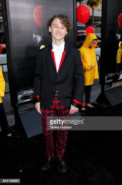 Wyatt Oleff attends the premiere of 'It' at TCL Chinese Theatre on September 5 2017 in Hollywood California