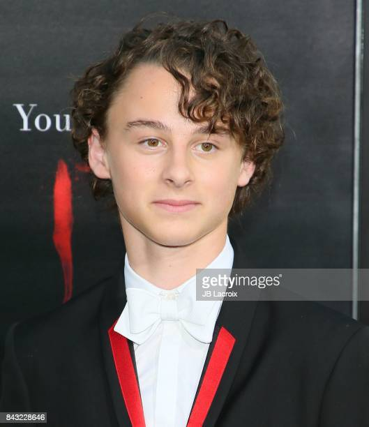 Wyatt Oleff attends the premiere of Warner Bros Pictures and New Line Cinema's 'It' on September 5 2017 in Los Angeles California