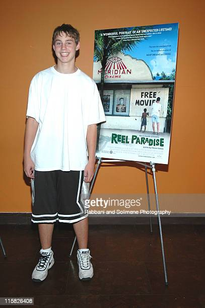 """Wyatt Pierson during """"Reel Paradise"""" New York City Premiere - Inside Arrivals at Tribeca Cinemas in New York City, New York, United States."""