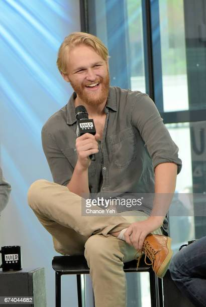 """Wyatt Russell attends Build series to discuss """"Folk Hero & Funny Guy"""" at Build Studio on April 27, 2017 in New York City."""