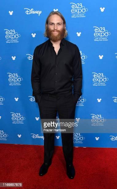 Wyatt Russell attends D23 Disney+ Showcase at Anaheim Convention Center on August 23, 2019 in Anaheim, California.