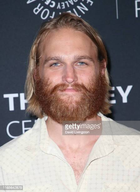 """Wyatt Russell attends the season 2 premiere of AMC's """"Lodge 49"""" hosted by The Paley Center at The Paley Center for Media on August 01, 2019 in..."""