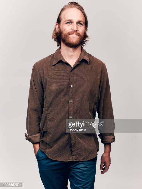 Wyatt Russell of AMC's 'Lodge 49' poses for a portrait during the 2018 Summer Television Critics Association Press Tour at The Beverly Hilton Hotel...