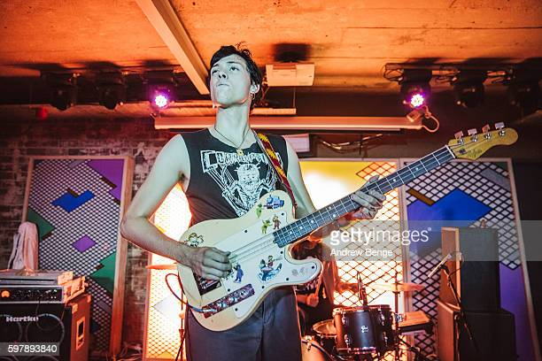 Wyatt Shears of The Garden performs on stage at Headrow House on August 29 2016 in Leeds England