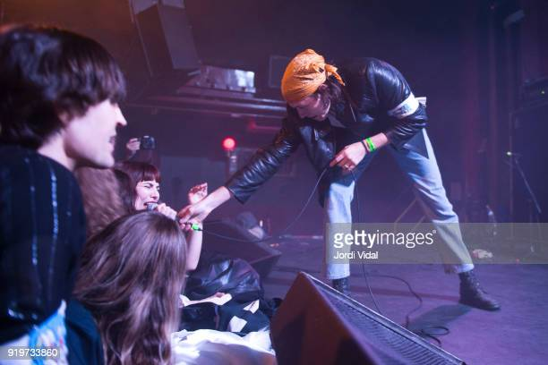 Wyatt Shears of The Garden performs on stage during Burguer Invasion Festival at Sala Apolo on February 17 2018 in Barcelona Spain