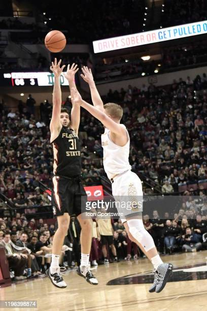 Wyatt Wilkes forward Florida State University Seminoles led his team with a career-high 19 points including going five of six from beyond the...