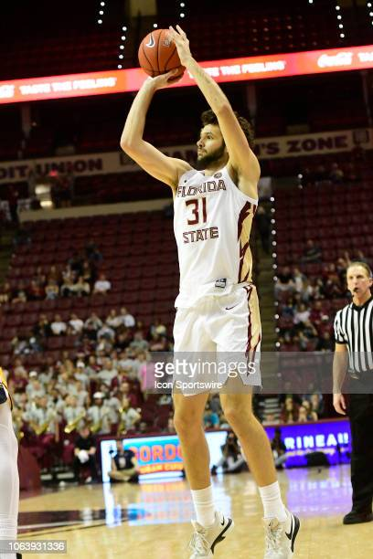 Wyatt Wilkes forward Florida State University Seminoles makes three points against the Canisius College Golden Griffins, Monday, November 19 at the...