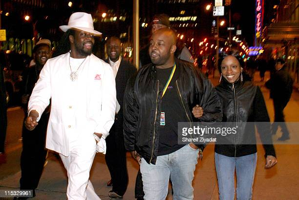 Wyclef Jean and guests during VP Records 25th Anniversary - Arrivals and Concert at Radio City Music Hall in New York City, New York, United States.