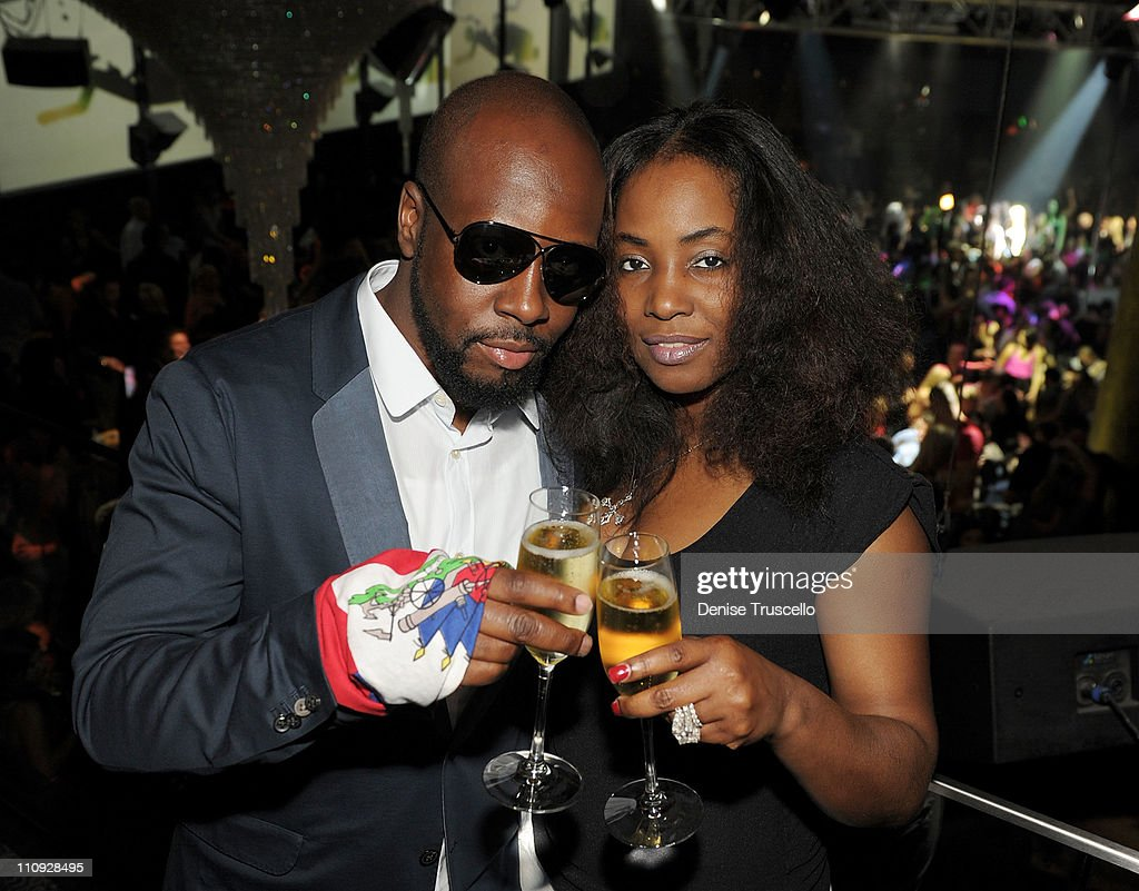 Wyclef Hosts and Performs at Haze Nightclub at Aria  In CityCenter : News Photo