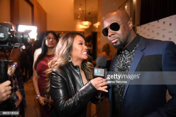 Wyclef Jean attends Joe Carter Classic After Party at Ritz Carlton on June 21 2018 in Toronto Canada