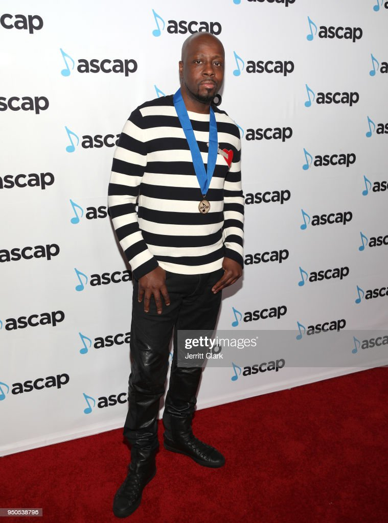 Wyclef Jean attends the 2018 ASCAP Pop Music Awards at The Beverly Hilton Hotel on April 23, 2018 in Beverly Hills, California.