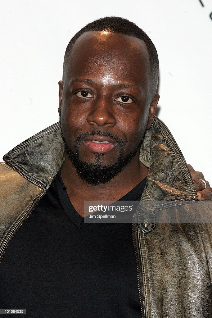 Wyclef Jean attends the 25th Annual Rock and Roll Hall of Fame Induction Ceremony at Waldorf=Astoria on March 15, 2010 in New York, New York.