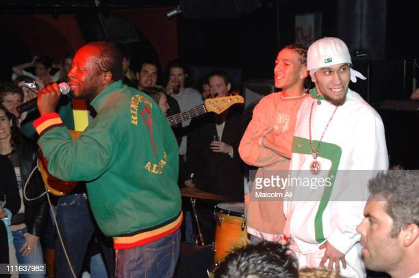 Wyclef Jean Khleo Thomas and Taboo of the Black Eyed Peas