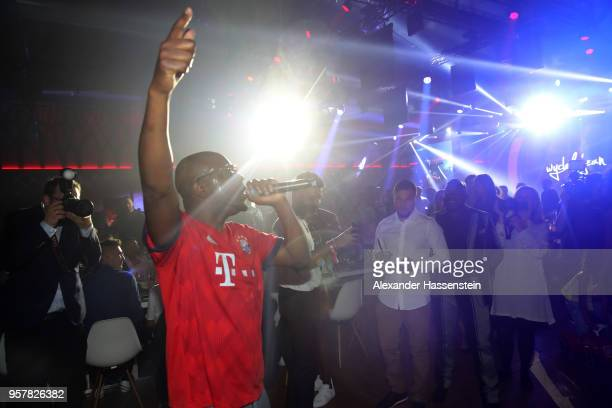 Wyclef Jean performes at the FC Bayern Muenchen Celebration 2018 Party at Nockherberg on May 12 2018 in Munich Germany