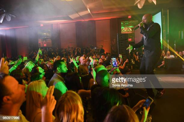 Wyclef Jean performs at Joe Carter Classic After Party at Ritz Carlton on June 21 2018 in Toronto Canada