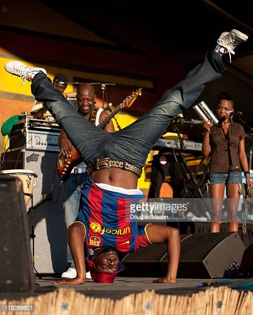 Wyclef Jean performs at the 2011 New Orleans Jazz Heritage Festival presented by Shell at the Fair Grounds Race Course on April 29 2011 in New...