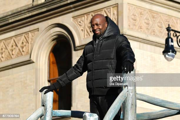 Wyclef Jean rides in the 91st Annual Macy's Thanksgiving Day Parade on November 23 2017 in New York City