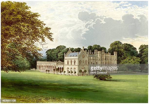 Wycombe Abbey Buckinghamshire home of Lord Carrington c1880 The house as it appears here was designed by James Wyatt for Robert Smith 1st Baron...