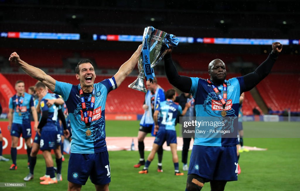 Oxford United v Wycombe Wanderers - Sky Bet League One - Play-Off - Final - Wembley Stadium : News Photo