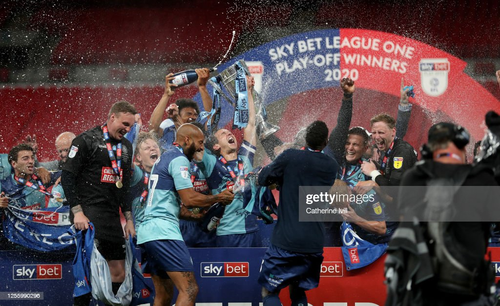 Oxford United v Wycombe Wanderers - Sky Bet League One Play Off Final : News Photo