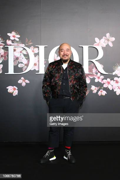 Wyman Wong attends the photocall at the Dior Pre Fall 2019 Men's Collection on November 30, 2018 in Tokyo, Japan.