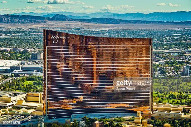 wynn casino & resort - wynn las vegas stock pictures, royalty-free photos & images