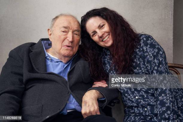 Wynn Handman and Kasey Cunningham of the film 'It Takes A Lunatic' pose for a portrait during the 2019 Tribeca Film Festival at Spring Studio on...
